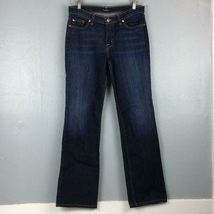 David Kahn Ladies Bootcut Dark Wash Jeans Sz 10